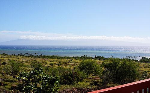 Stunning views from lanai - Kimo's Hale - Kaunakakai - rentals