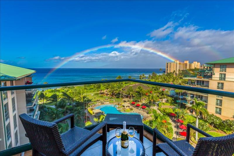 Maui Westside Properties: Hokulani 709 - Ocean Views, Wraparound Lanai and BBQ! - Image 1 - Ka'anapali - rentals