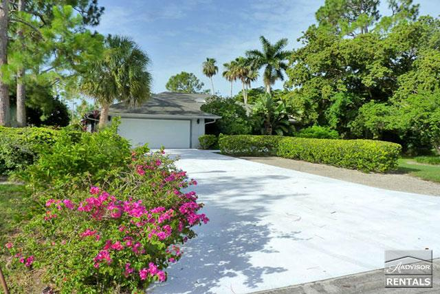 Spacious and private pool home with two master suites 10 minutes from the beach! - Image 1 - Naples - rentals