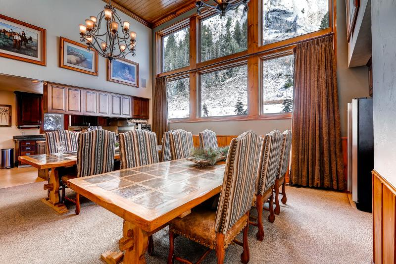 Chalet Day Johns Dining Room - Chalet Day Johns - Alta - rentals