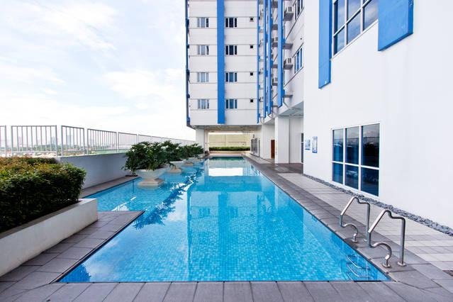 Condo Studio Luxe in Princeton Residences - Image 1 - Quezon City - rentals