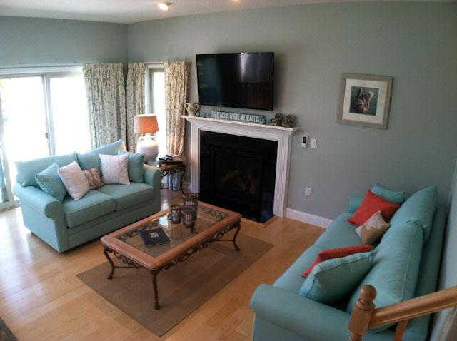 Living Area - Bayside unit close to beach with King Bed, Central A/C, Pool & Tennis - BP0563 - Brewster - rentals