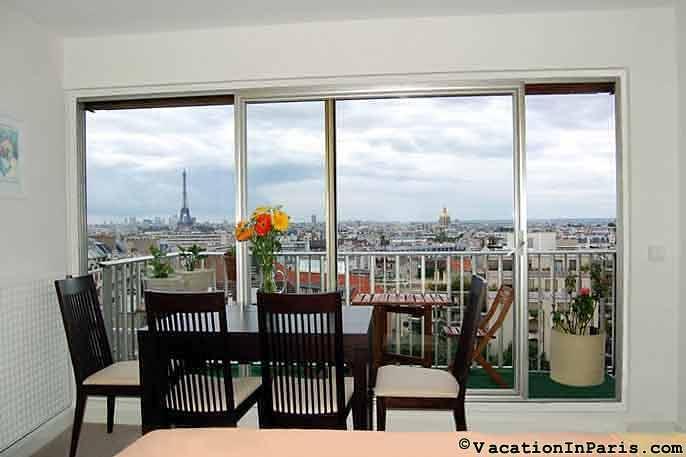 Eiffel Tower Lookout Studio - Image 1 - Vanves - rentals
