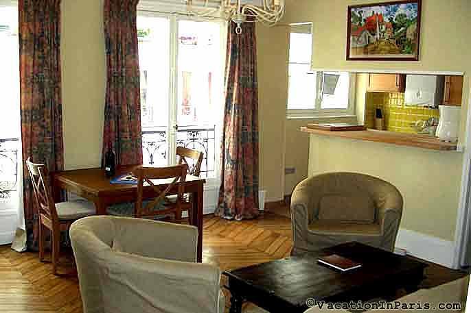 Riverbank 2 Bedroom Near Pont Neuf in Paris - Image 1 - Paris - rentals