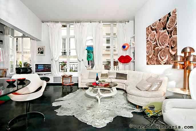 Marais Paris Glamour Two Bedroom Loft - ID# 172 - Image 1 - Paris - rentals