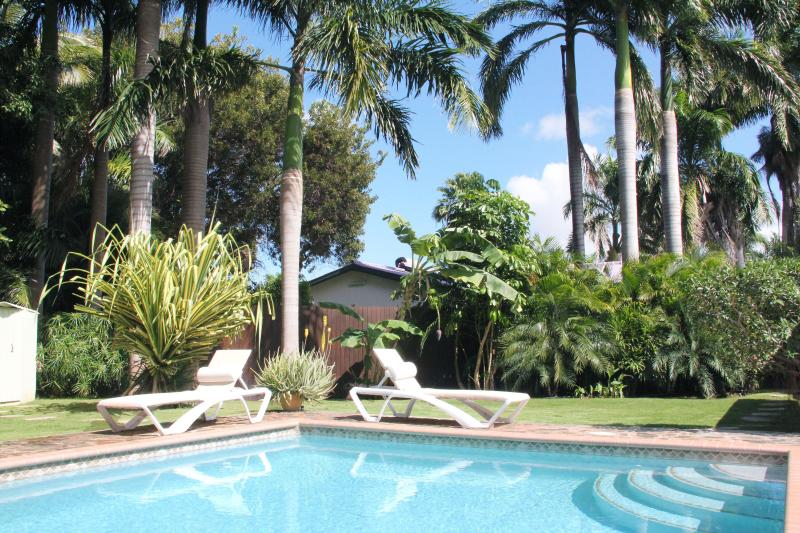 Pool - KAS KINIKINI 3-bedroom villa with tropical garden - Willemstad - rentals