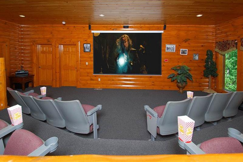Movie Room Lodge - Image 1 - Sevierville - rentals