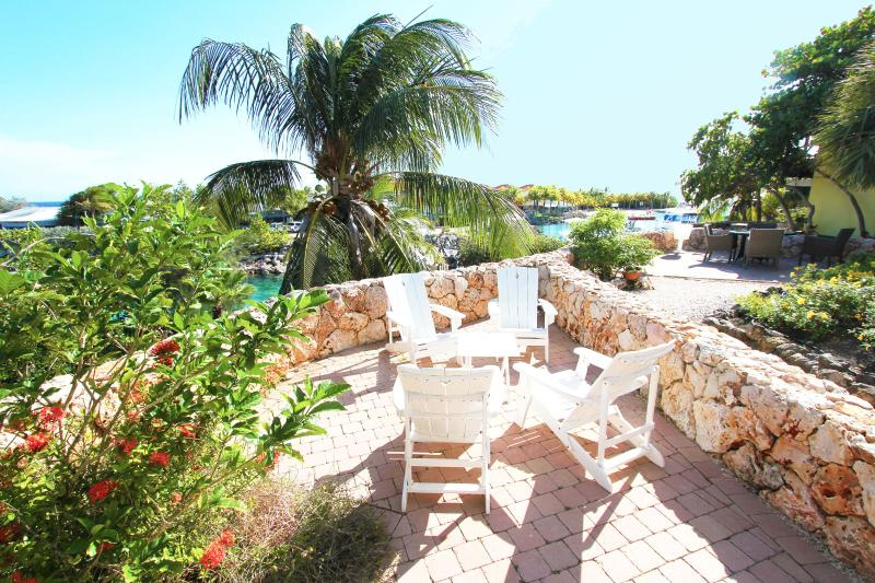 Terrace - OCEAN GARDEN  2-bedroom ocean front apartment - Willemstad - rentals