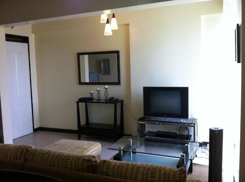 Living Area - Condominium Unit For Rent - Davao - rentals