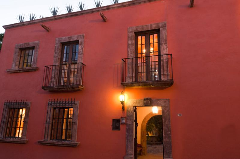 Facade - Casa Francisco - Colonial Gem in Historic Center - San Miguel de Allende - rentals