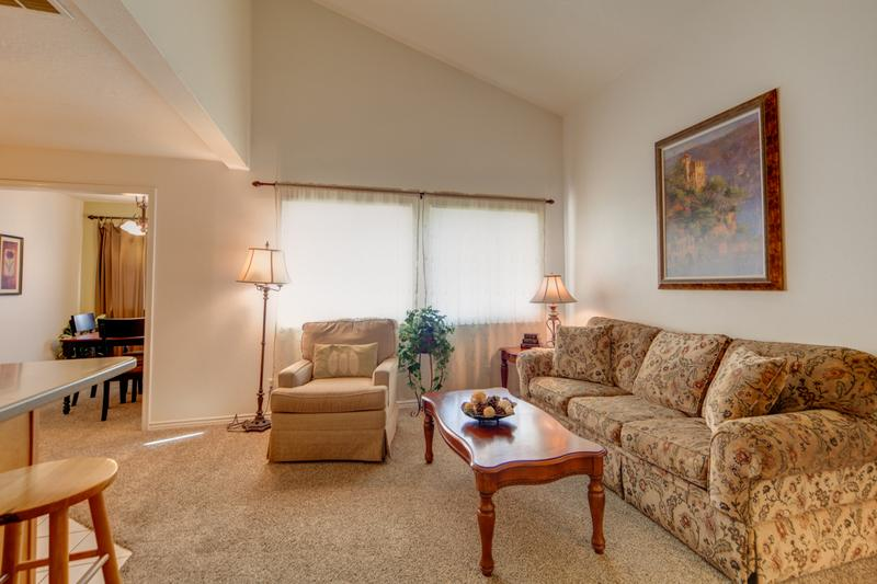 Spacious & Open 1-Bedroom Condo with Resort Amenities! No More Hotel Rooms. - Image 1 - Saint George - rentals