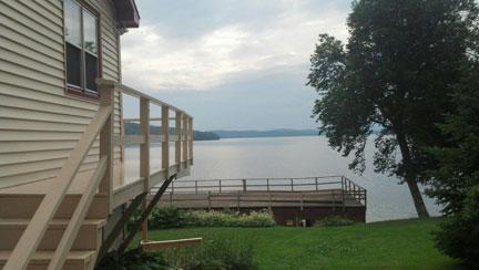 View - LeBlanc Condo - Rangeley - rentals