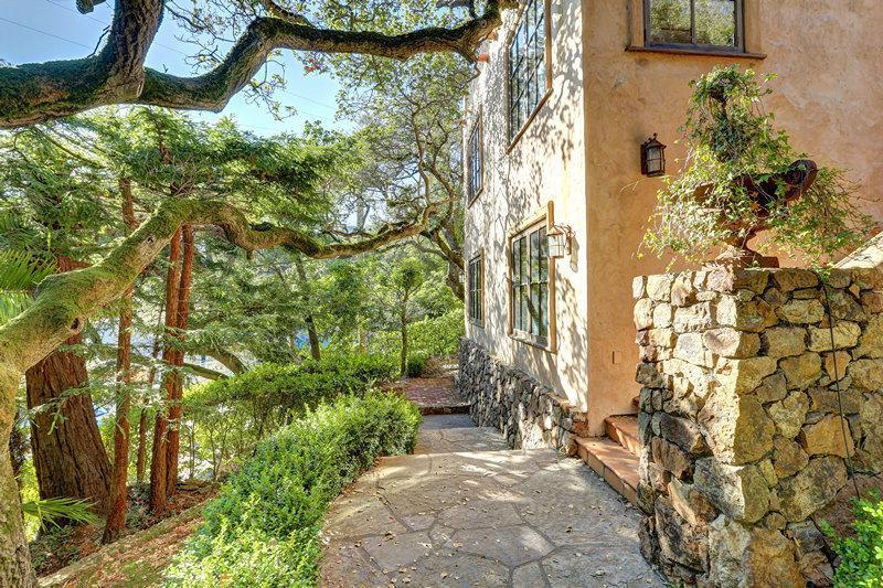 Entrance - Mediterranean Villa, - Sausalito - rentals