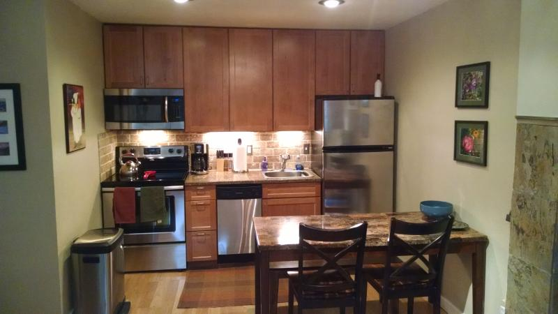 Kitchen - Beautiful Remodeled Condo on the Fraser River at H - Winter Park - rentals