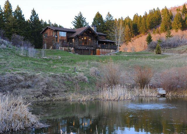 Wonderfully private lodge in the Bridger foothills - with a pond! - Rocky Creek Ranch - Bozeman - rentals