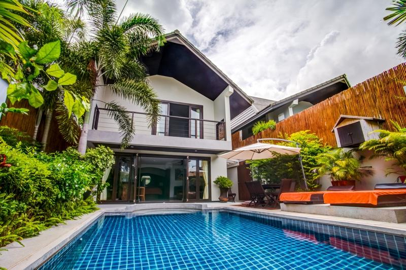 Villa Tawan exterior - Beachside Luxury Pool Villas - Mae Nam - rentals