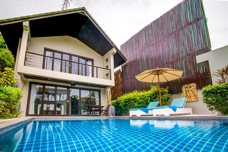 Villa Chok exterior - Beachside Luxury Villa Chok - Koh Samui - rentals