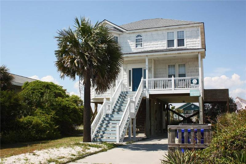 Anchors Away  618 East Beach Drive - Image 1 - Oak Island - rentals