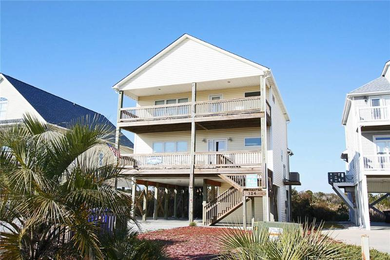 A Rising Tide 324 East Dolphin Drive - Image 1 - Oak Island - rentals