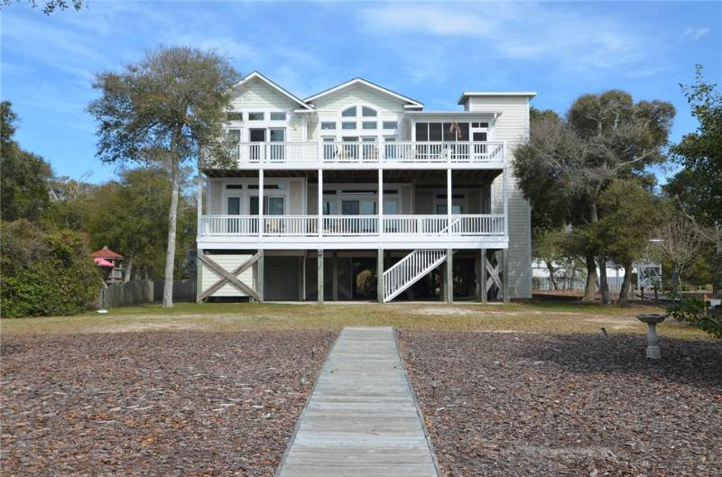 Beachfront Bliss 111 SE 64th Street - Image 1 - Oak Island - rentals