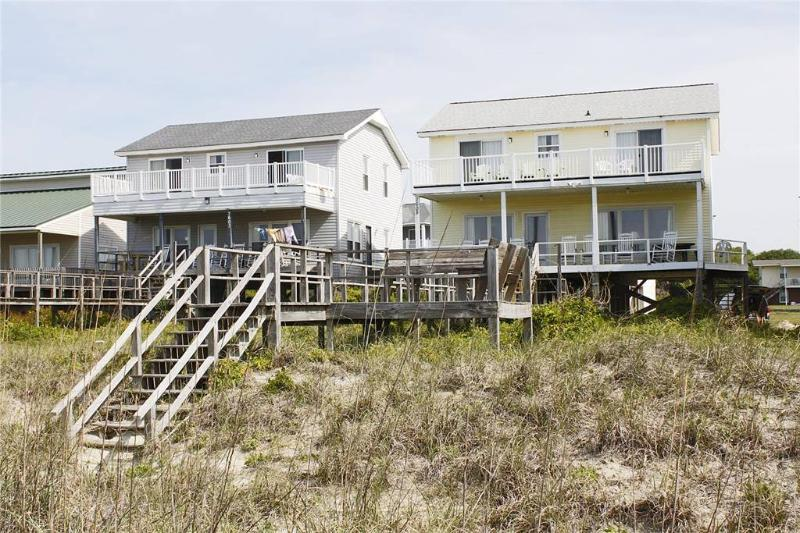 Beach Walkers 7605 East Beach Drive - Image 1 - Oak Island - rentals