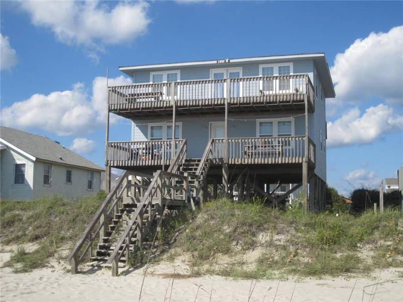 The Bessie-B  2009 West Beach Drive - Image 1 - Oak Island - rentals