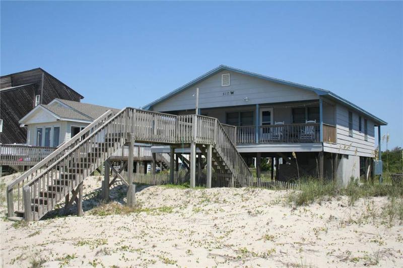 Blue Haven 517 West Beach Drive - Image 1 - Oak Island - rentals