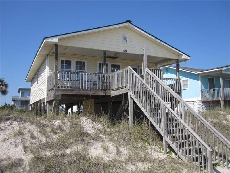 Dip Inn 321 East Beach Drive - Image 1 - Oak Island - rentals