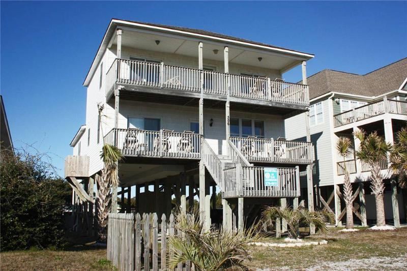 Dolphins View 306 East Beach Drive - Image 1 - Oak Island - rentals