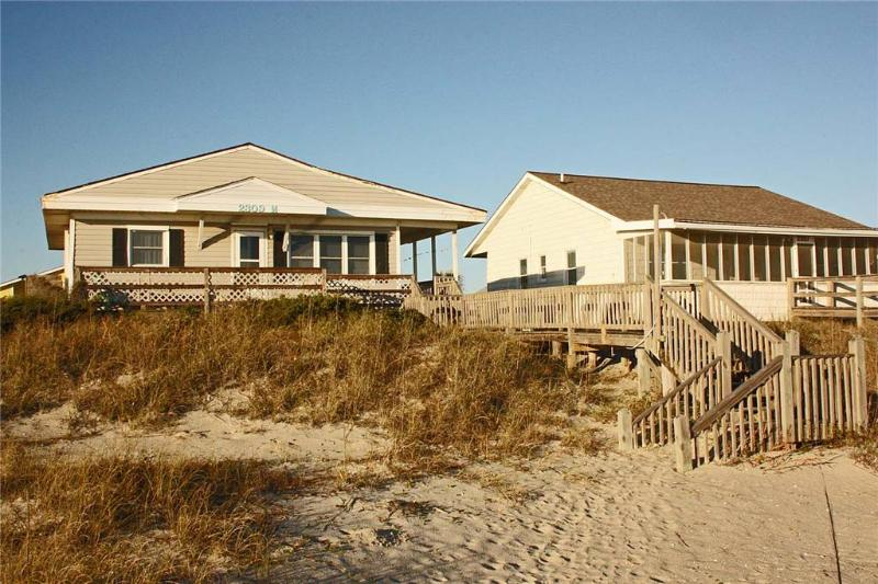 Dreamy Days 2309 West Beach Drive - Image 1 - Oak Island - rentals