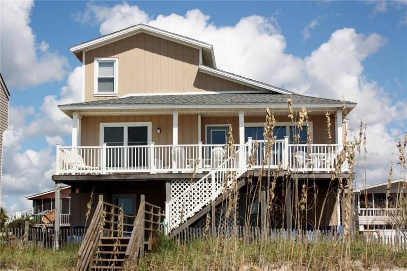 Frank's Folly 3907 West Beach Drive - Image 1 - Oak Island - rentals
