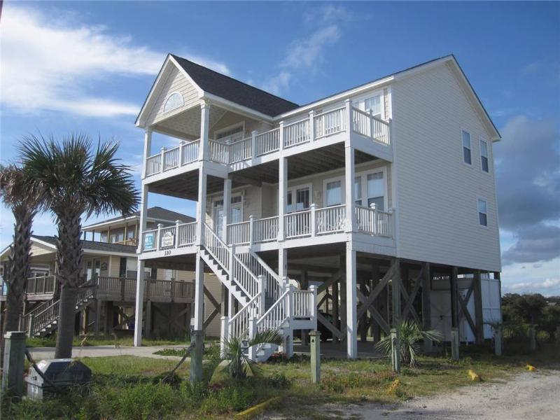 Heavenly Heights 330 East Beach Drive - Image 1 - Oak Island - rentals
