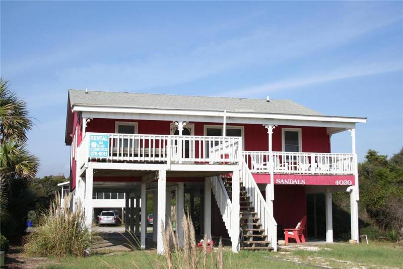 Island Girl 4020 East Beach Drive - Image 1 - Oak Island - rentals
