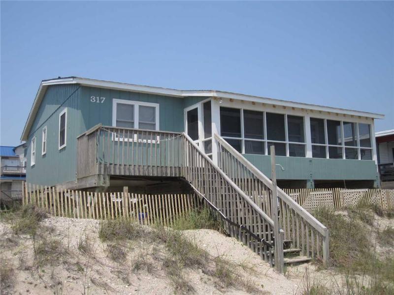 Jay Hawk  317 East Beach Drive - Image 1 - Oak Island - rentals