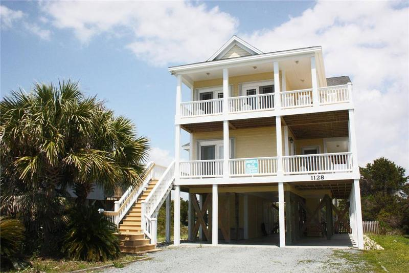 Latitude Adjustment 1128 E. Beach Drive - Image 1 - Oak Island - rentals