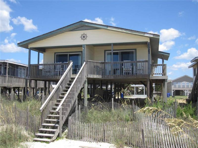 Mackerel Sky  West 1127 East Beach Dr. - Image 1 - Oak Island - rentals