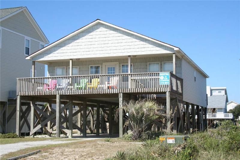 No Worries     920 E. Beach Drive - Image 1 - Oak Island - rentals