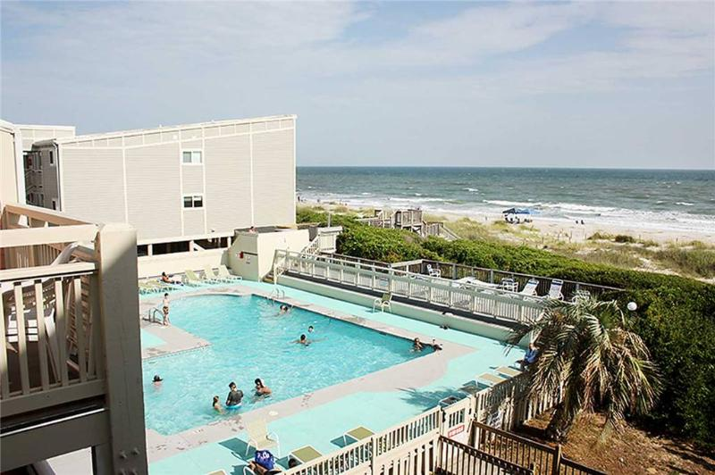 The Palm   Unit #402 1000 Caswell Bch Rd. - Image 1 - Oak Island - rentals