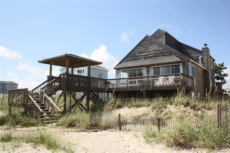 Red and Brown 5129 West Beach Drive - Image 1 - Oak Island - rentals