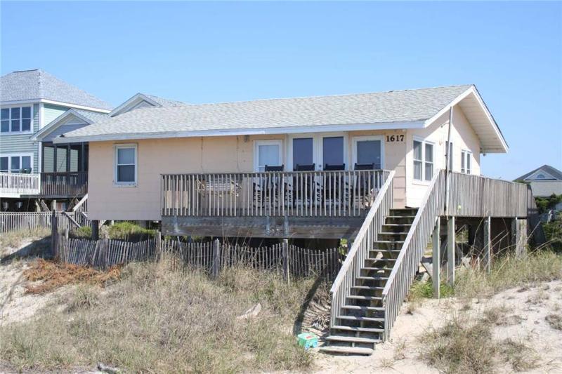 Russell in the Wind  1617 E. Beach Drive - Image 1 - Oak Island - rentals