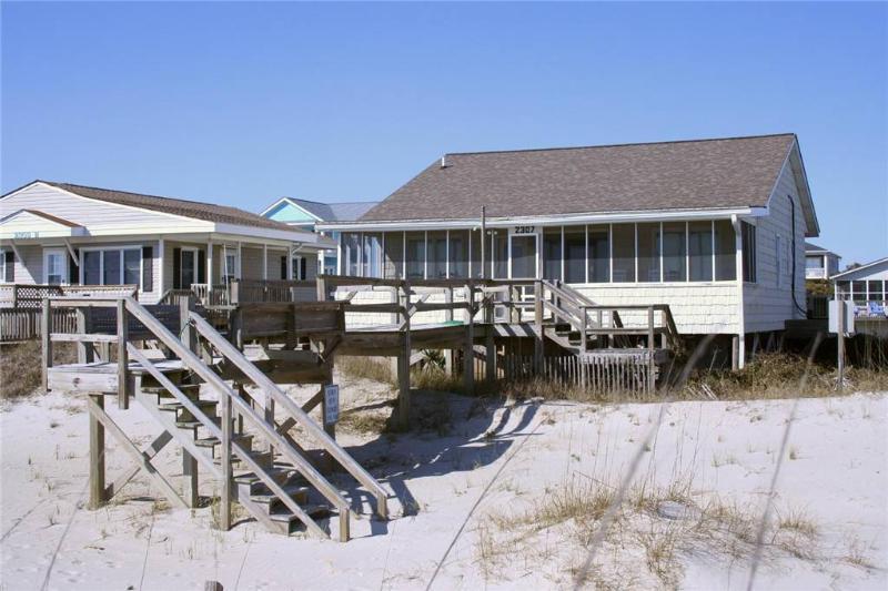 Sand Between My Toes 2307 West Beach Drive - Image 1 - Oak Island - rentals