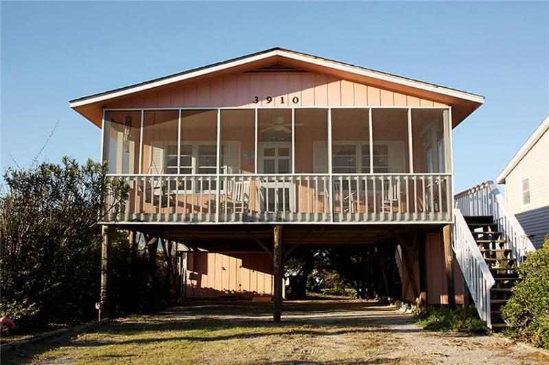 Think Pink 3910 West Beach Drive - Image 1 - Oak Island - rentals
