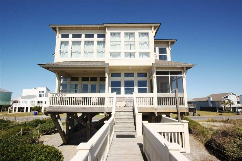 Time in a Bottle 6705 West Beach Drive - Image 1 - Oak Island - rentals