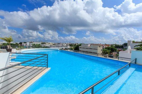 Condo Amalfi - Rooftop common areas - Vacation rentals Playa del Carmen - Amalfi - Playa del Carmen - rentals