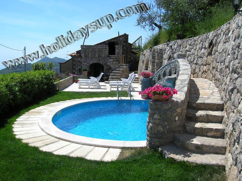 Villa renters massa lubrense coast with private swimming pool hydro massage on the rock and solarium - Villa Esposito enchanting position, pool, sea view - Sorrento - rentals