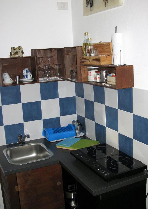 cucina - monolocale sul mare - Rapallo - rentals