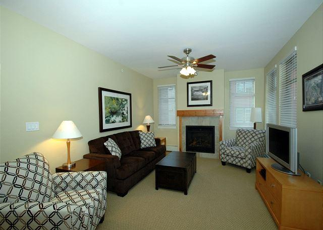 Walk to the slopes from this Fraser Crossing two bedroom. - Image 1 - Winter Park - rentals