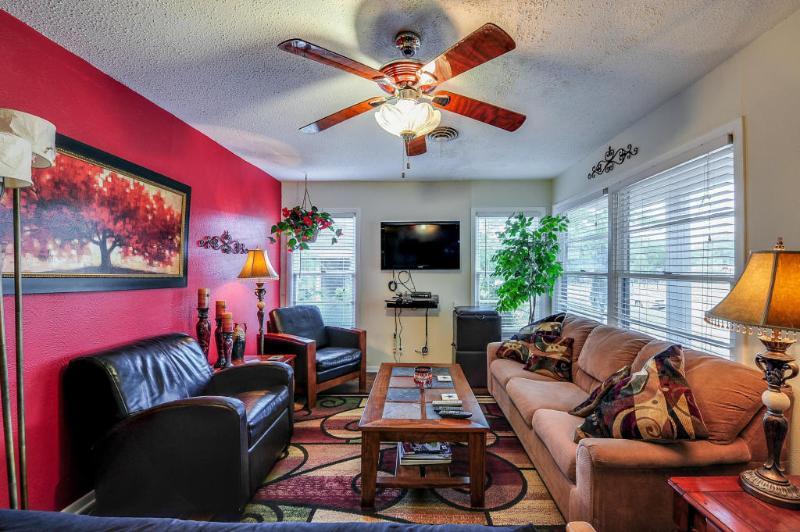 Living room view from dining area. - Three Blocks from Cowboy Stadium- Arlington, Texas - Arlington - rentals