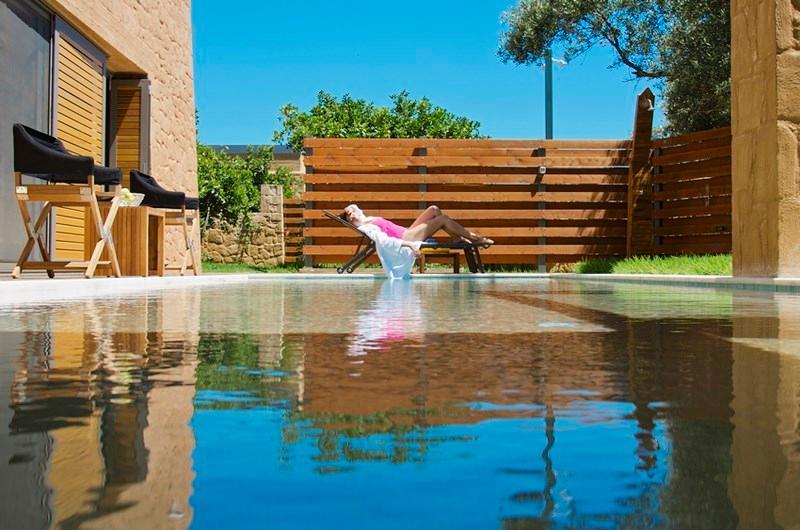 Outdoor pool - Blue Villas | Alivia |Amazing Villa - Kontomari - rentals