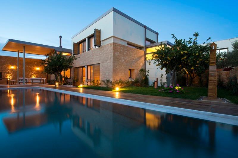 Exterior - Blue Villas | Mandarina| Stylish Peacefull - Kontomari - rentals